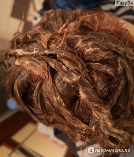 Волосы в краске