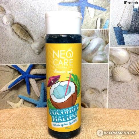 Гель для душа NEO CARE Coconut Malibu фото