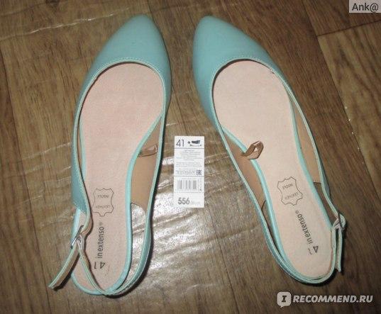 Туфли женские In Extenso Ашан 124492 фото