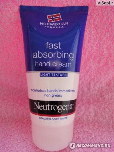 Крем для рук и ногтей Neutrogena®  Fast absorbing hand cream фото