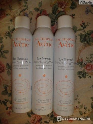 Термальная вода Avene  фото