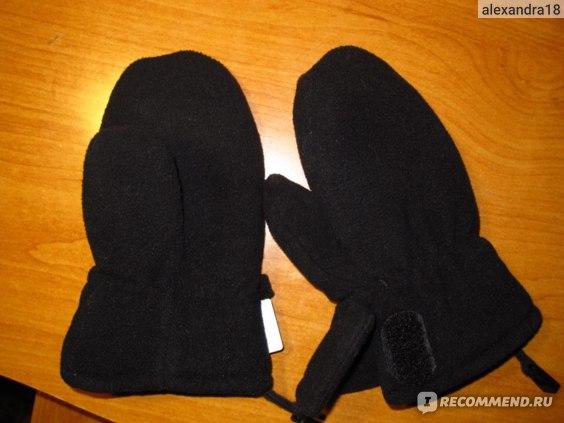 Варежки, краги REIMA Флисовые рукавички Mjuk Reima  фото