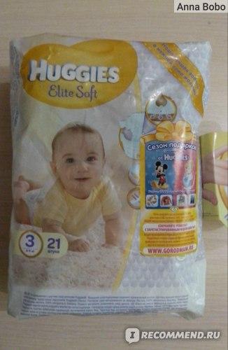 """Подгузники Huggies Elite Soft """"3"""""""