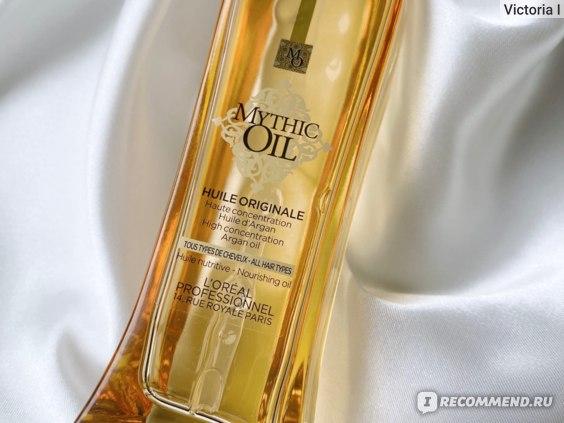 Масло для волос L'Oreal Professionnel Mythic Oil фото
