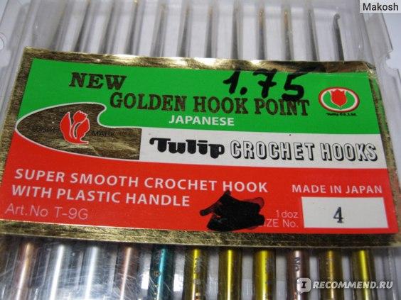 Крючки для вязания Tulip Etimo Crochet Hooks фото