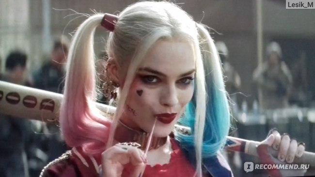 Марго Робби в роли Харли Квин, героиня сексуальных фантазий мужской половины фанатов DC