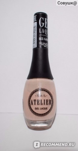 Гель-лак для ногтей Vivienne sabo Joli Pastel Nail Atelier фото