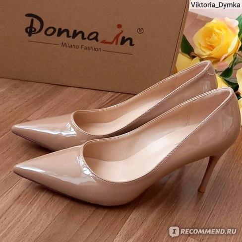 Туфли женские Aliexpress Donna-in 2021 Spring High Heels Pointed Working Pumps Fashion Luxury Stiletto Wedding Women's фото