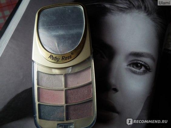 Тени для век Ruby Rose Delux beauty cosmetic kit фото