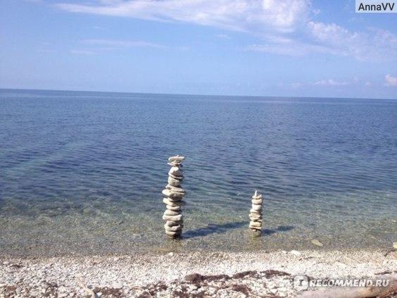 Россия, с. Дивноморское, Черное море фото