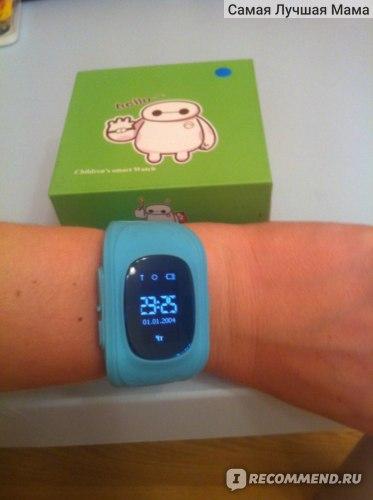Детские часы с gps трекером Q50 Smart Baby Watch фото