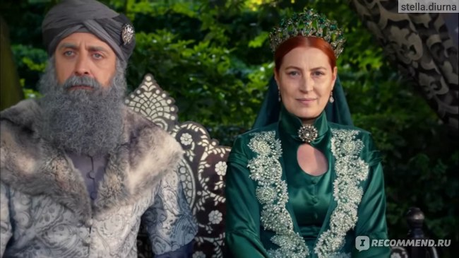 Великолепный век пожилые Хюррем и Сулейман