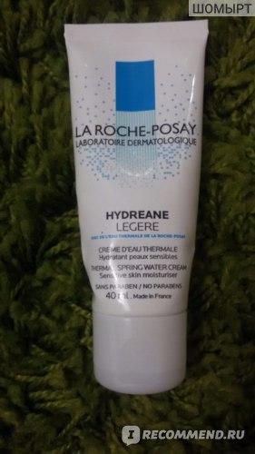 Крем для лица La Roche Posay Hydreane Legere Увлажняющий для чувствительной кожи фото