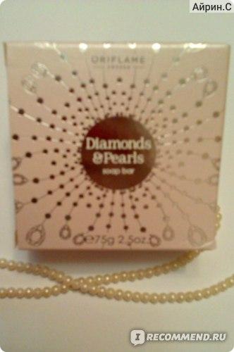 Мыло Oriflame Diamonds & Pearls (Бриллианты и жемчуг) фото