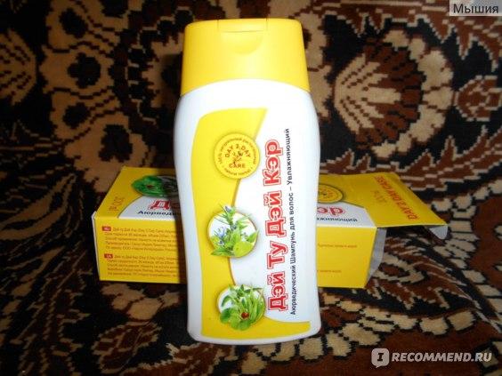 Шампунь Дэй Ту Дэй Кэр Аюрведический для волос - Увлажняющий фото