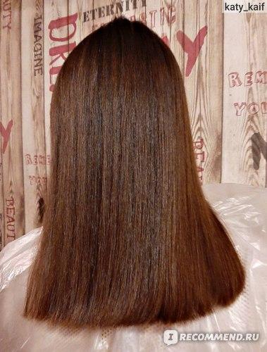 Волосы после одной процедуры)