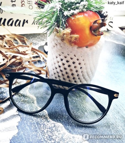 Очки Aliexpress 2018 Fashion Women Glasses Frame Men Eyeglasses Frame Vintage Round Clear Lens Glasses Optical Spectacle Frame фото