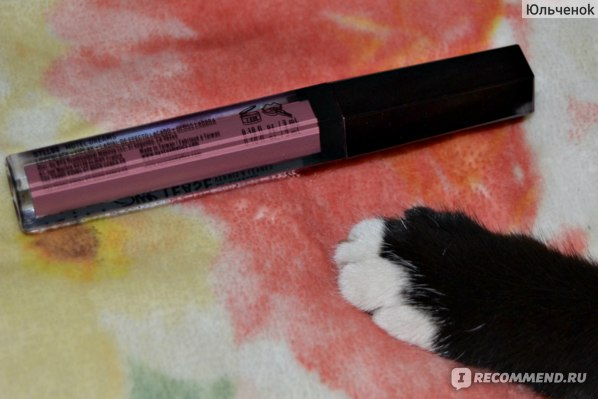 Жидкая губная помада NYX Slip Tease Full Color Lip Lacquer  фото