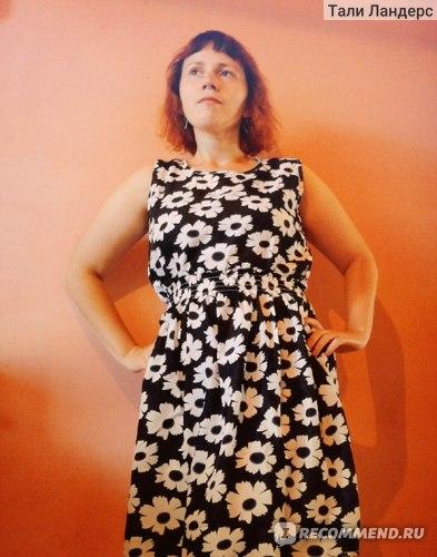 3a1bfd61bd6bff0 Шифоновое летнее платье · Сайт Pandao.ru - Бесплатная доставка товаров из  Китая в Россию фото