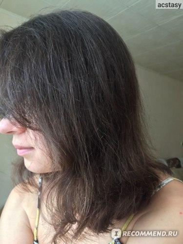 Влажные вымытые волосы без укладки - Мицеллярный Мягкий Шампунь Чистая линия