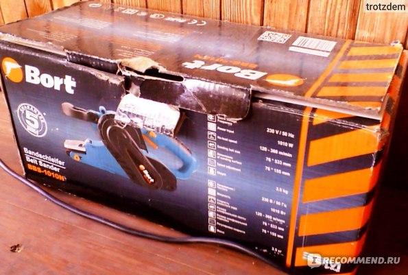 Ленточная шлифовальная машина Bort BBS-1010N фото