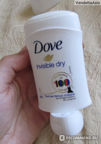 Дезодорант-антиперспирант Dove Invisible Dry (против белых следов) стик фото