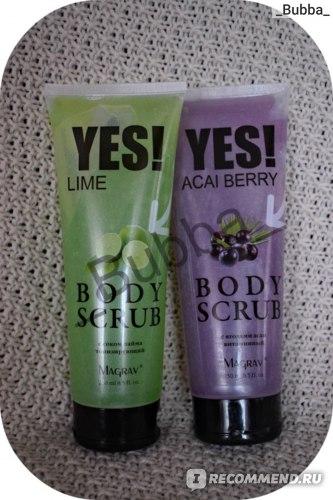 Скраб для тела YES! Body Scrub фото