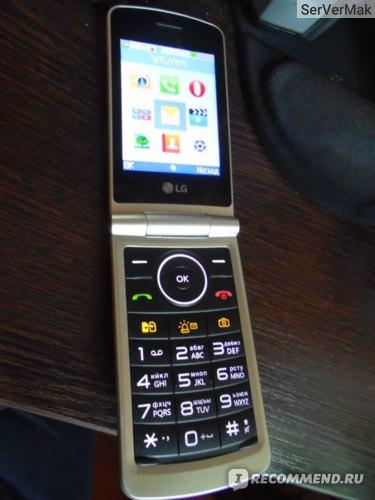 Мобильный телефон LG G360 фото