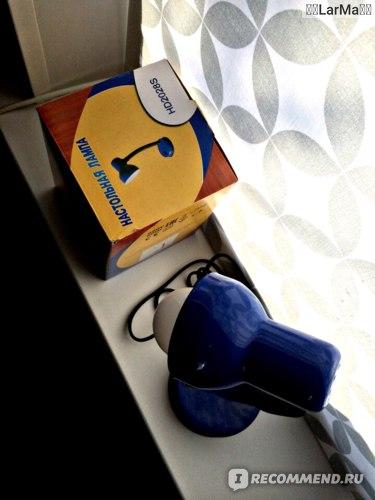 Лампа настольная Castorama HD2028S 220V 60W E27 фото