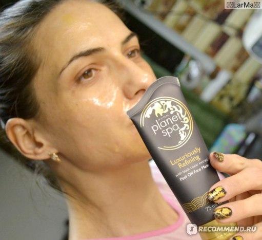 Маска-пленка для кожи лица Avon Роскошное обновление с экстрактом черной икры