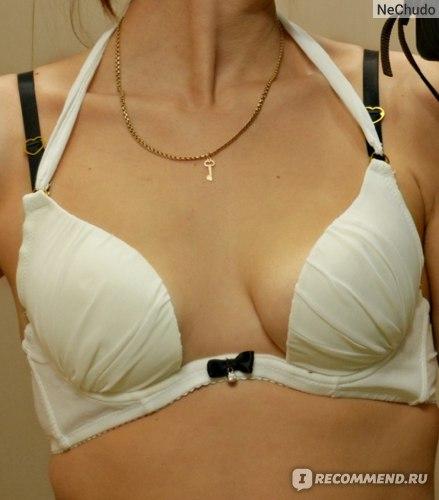 Комплект нижнего белья Aliexpress 2014 New Embroidery Girls Women Bras Push Up Lace Bra Set Underwear Sets Brief Set White Black 2 colors фото
