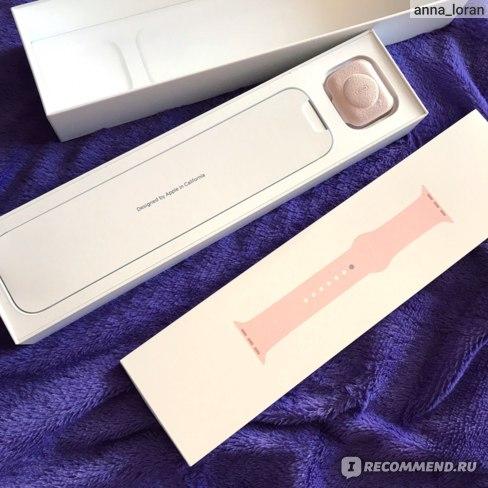 Содержимое упаковки Apple Watch