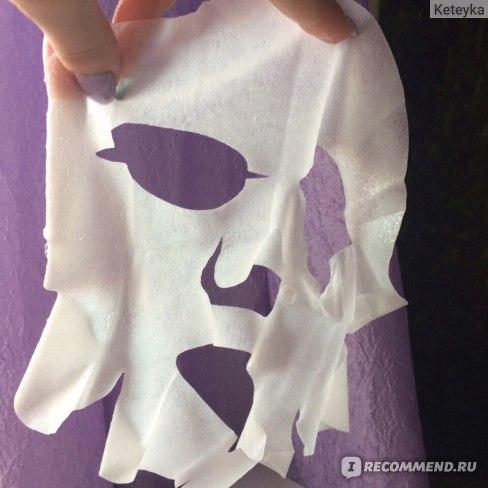 Тканевая маска для лица Шёлковая лента Успокаивающая фото