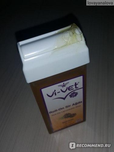 Воск в картридже Vi-vet с роликом Naturel фото
