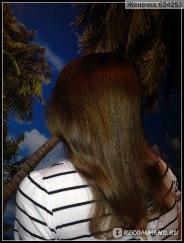 Результат сразу же после мытья без использования дополнительных масел, спреев♥ Волосы высохли естественным путем!