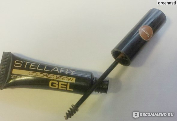 Гель для бровей STELLARY Brow gel STYLER фото