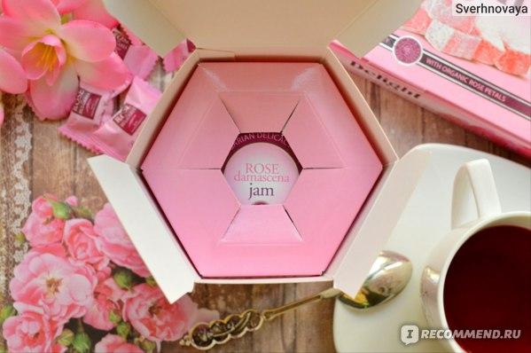 Джем Rose of Bulgaria из лепестков роз с розовым маслом.