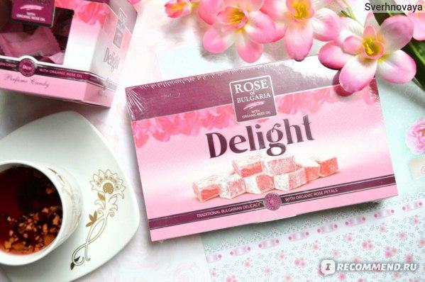 Лукум Rose of Bulgaria Delight с розовым маслом