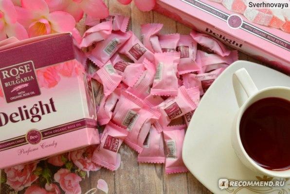 Леденцы с розовым маслом Rose of Bulgaria