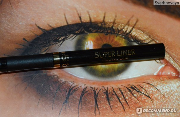 Подводка-фломастер для глаз L'Oreal Super Liner Perfect Slim  фото
