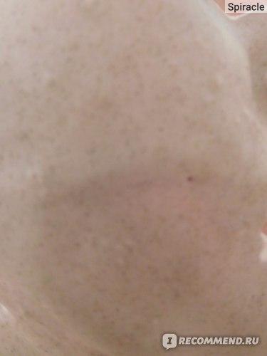 альгинатная маска LEMA на лице
