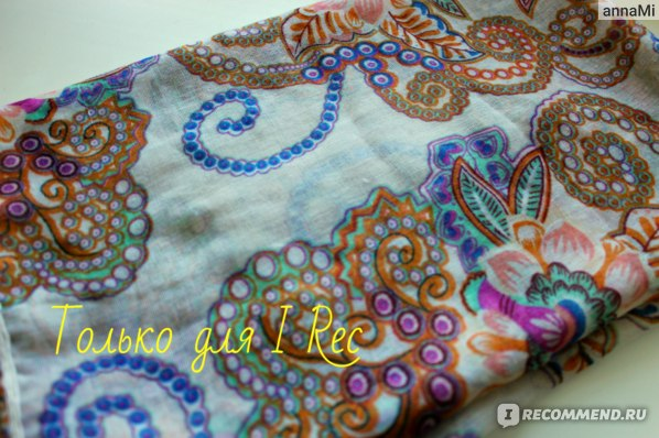 Шарф AliExpress 2013 Women's Cotton Blends Totem Retro Bohemia Scarf Shawl Noble Floral Scarves Shawl Fashion фото