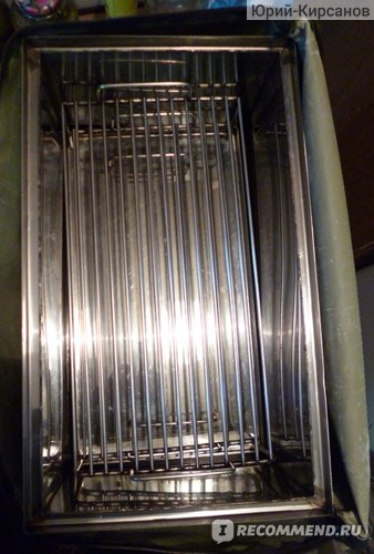 Коптильня в собранном состоянии (без крышки).