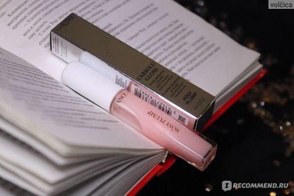 Блеск для губ Lancome L'Absolu Plumper Rosy Plump фото