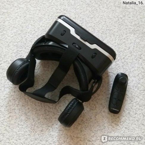 Очки виртуальной реальности с наушниками VR Shinecon SC-G04E/SC-B03 фото