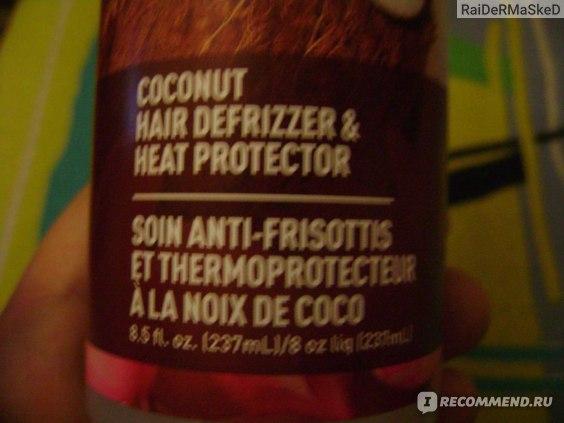Спрей для волос Desert Essence, Coconut Hair Defrizzer & Heat Protector фото