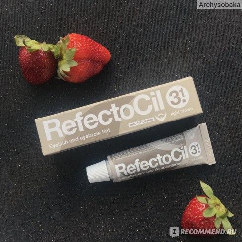 Краска для бровей Refectocil в оттенке 3.1