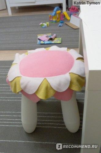 ЛАТТО подушка на стул Икеа фото