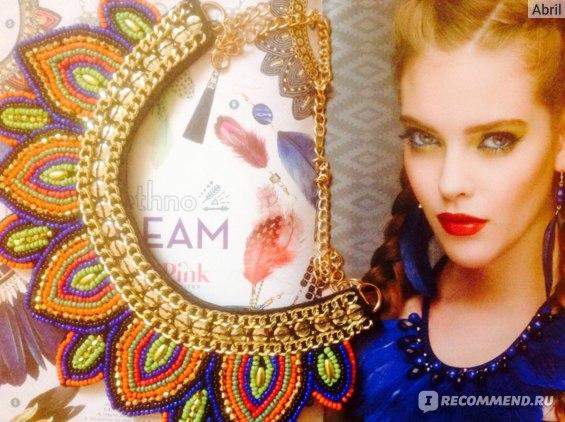 Воротник Lady Pink Ethno Dream фото