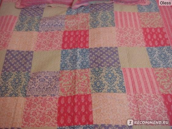 Стёганое покрывало для спальни Танго Patchwork  фото